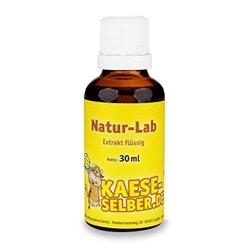 Labextrakt (Käselab) flüssig 30ml 1:10000 – Naturlab (Käse selber machen)