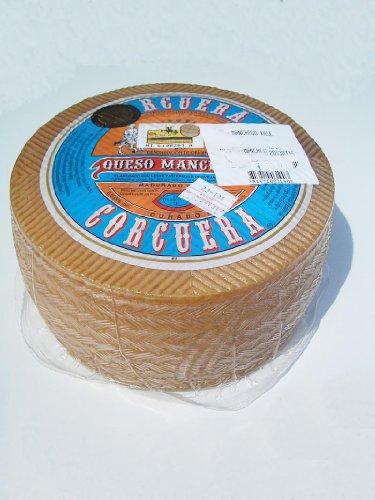 Quesos Corcuera – Ganzer Original Spanischer Manchego Curado Käse Schafskäse