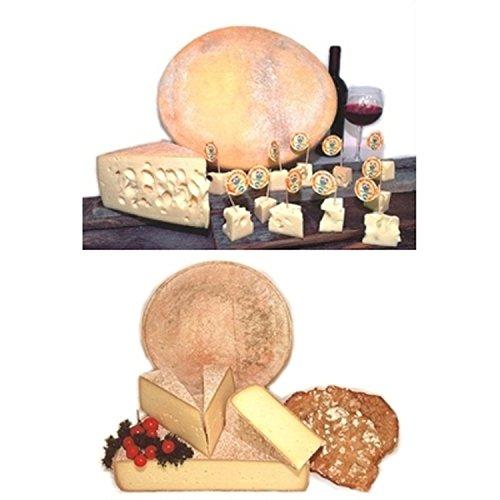 Set Sextner Käse ca. 2 x 1 kg. – Almkäse+Bergkäse Sexten