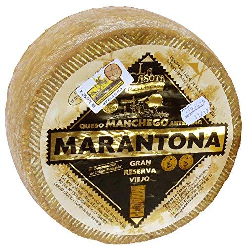 Ganzer Original Spanischer Manchego Käse Viejo Reserva